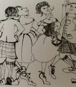 Picture from an original drawing by Fiona Allerdyce-Lewis